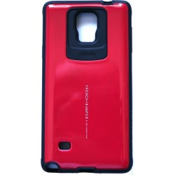 Husa Galaxy Note 4 Arium French Bumper rosu