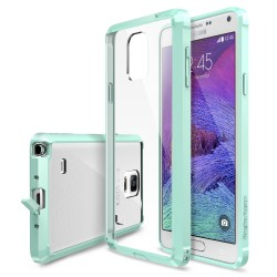 Husa Samsung Galaxy Note 4 Ringke FUSION MINT+BONUS Ringke Invisible Defender Screen Protector