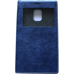 Husa Samsung Galaxy Note 4 Edge Arium Buffalo Flip View albastru navy