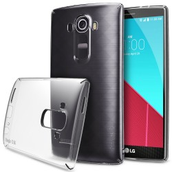 Husa LG G4 Edge Ringke SLIM CRYSTAL TRANSPARENT + BONUS folie protectie display Ringke