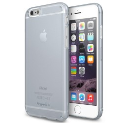 Husa iPhone 6 Ringke SLIM FROST GRI + BONUS folie protectie display Ringke