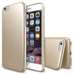 Husa iPhone 6s Plus Ringke SLIM ROYAL GOLD+BONUS Ringke Invisible Defender Screen Protector
