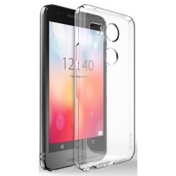 Husa Google Nexus 5X 2015 Ringke SLIM CRYSTAL TRANSPARENT+BONUS folie protectie display Ringke