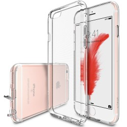 Husa iPhone 6 / iPhone 6s Ringke Air CRYSTAL VIEW TRANSPARENT + BONUS folie protectie display Ringke