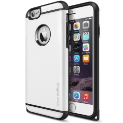 Husa iPhone 6 Plus / 6s Plus Ringke ARMOR MAX ALB+BONUS Ringke Invisible Defender Screen Protector