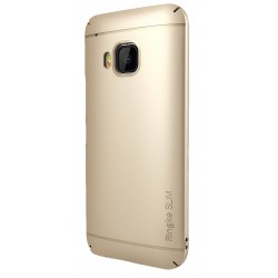 Husa HTC One M9 Ringke SLIM GOLD + BONUS folie protectie display Ringke