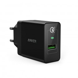 Incarcator de retea Anker PowerPort+ 1 Qualcomm Quick Charge 3.0 USB PowerIQ Negru