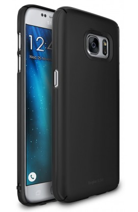 Husa Samsung Galaxy S7 Edge Ringke Slim SF BLACK