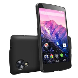 Husa Google Nexus 5 Ringke SLIM SF BLACK+BONUS folie protectie display Ringke