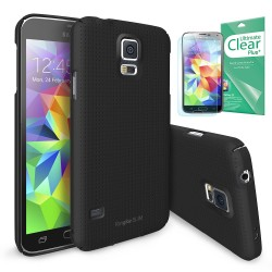 Ringke SLIM Samsung Galaxy S5 Dot SF BLACK+BONUS Ringke® Invisible Defender Screen Protector