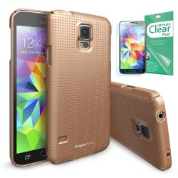 Ringke SLIM Samsung Galaxy S5 Dot Copper Gold+BONUS Ringke® Invisible Defender Screen Protector