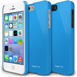 Husa iPhone 5/5s iPhone SE Ringke SLIM LF BLUE