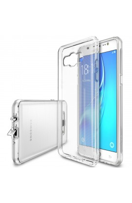 Husa Samsung Galaxy J5 2016 Ringke FUSION CRYSTAL CLEAR + bonus folie Ringke Invisible Screen Defender