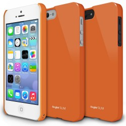 Husa iPhone 5/5s iPhone SE Ringke SLIM LF ORANGE