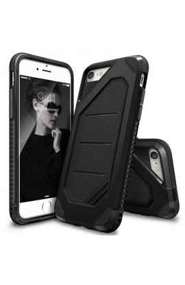 Husa iPhone 7 Ringke ARMOR MAX BLACK+BONUS folie protectie display Ringke