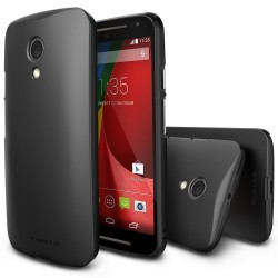 Husa Moto G 2nd Gen 2014 Ringke SLIM SF BLACK+BONUS folie protectie display Ringke