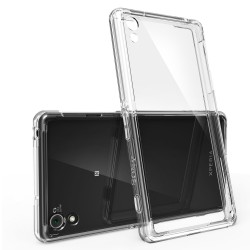 Husa Sony Xperia Z2 Ringke FUSION CRYSTAL VIEW TRANSPARENT+BONUS folie protectie display Ringke