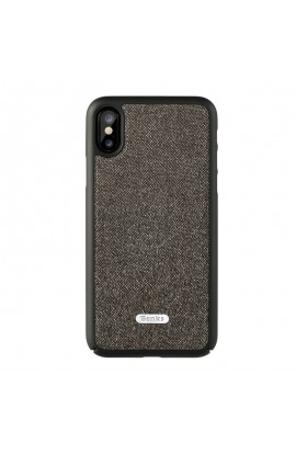 Husa iPhone X Benks Brownie NEGRU