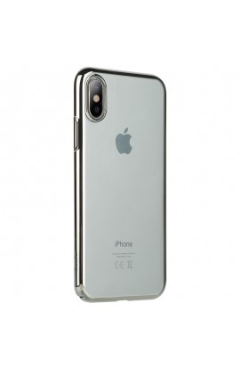 Husa Benks iPhone X Electroplated ARGINTIU