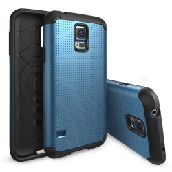 Ringke ARMOR Samsung Galaxy S5 DOT ELECTRIC BLUE+BONUS Ringke Invisible Defender Screen Protector