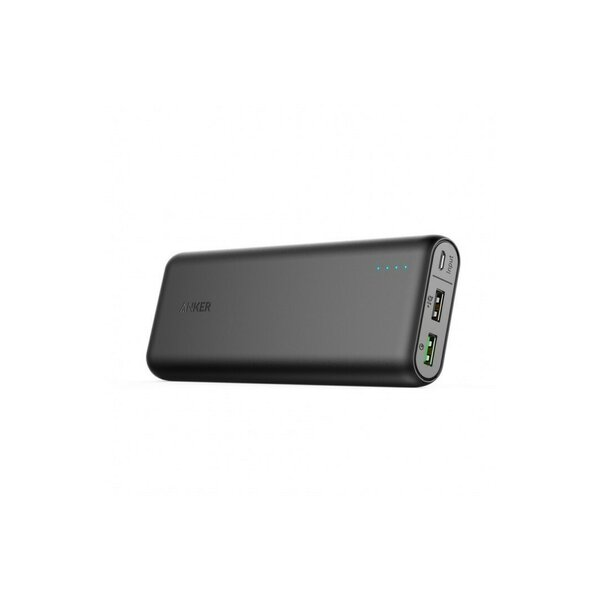 Baterie externa Anker PowerCore 20000 mAh Quick Charge 3.0 negru