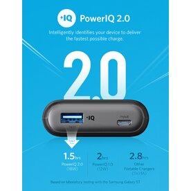 Baterie externa Anker PowerCore II 10000 mAh PowerIQ 2.0 negru