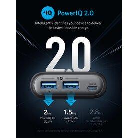 Baterie externa Anker PowerCore II 20100 mAh PowerIQ 2.0 negru