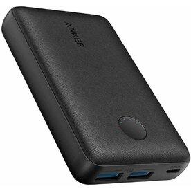 Baterie externa Anker PowerCore Select 10000mAh, 12W, 2x USB-A, Negru