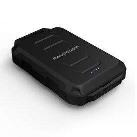 Baterie externa RavPower RP-PB044, 10050mAh, Rezistenta la Apa, Lanterna LED, 2x USB,  iSmart, Negru