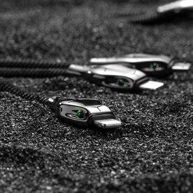 Cablu Benks D27 Snake Mamba 3in1 microUSB + 2x Lightning 1.5m