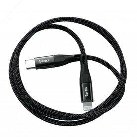 Cablu USB-C Lightning Benks M17 Power Delivery MFI 1.2m Negru