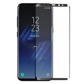 Folie sticla securizata premium full screen 3D Samsung Galaxy S9 tempered glass 9H 0,33 mm Benks X-Pro+ NEGRU
