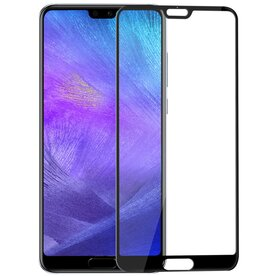 Folie sticla securizata premium full screen 3D Huawei P20 Pro 9H 0,33 mm Benks V-Pro NEGRU