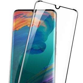 Folie sticla securizata full screen 3D Huawei P30 Pro tempered glass 0,3 mm X Pro+ Benks NEGRU