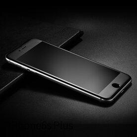 Folie sticla securizata full screen 3D iPhone 6/6s 9H 0,23 mm Benks KR+ NEGRU