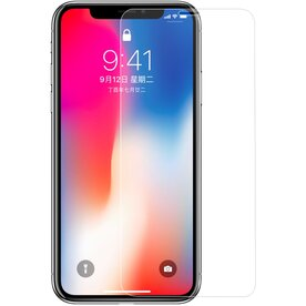 Folie sticla securizata premium 2.5D iPhone Xs tempered glass 9H 0,30 mm Benks OKR+