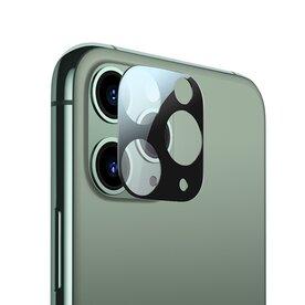 Folie sticla securizata premium Benks KR 0,15 mm pentru camera foto iPhone 11 Pro / Pro Max Negru