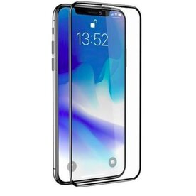 Folie sticla securizata premium full body 3D iPhone X/Xs tempered glass 9H 0,23 mm Benks KR+ NEGRU
