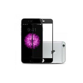 Folie sticla securizata premium full body PRO iPhone 6 / 6s tempered glass 9H 0,3 mm Benks NEGRU