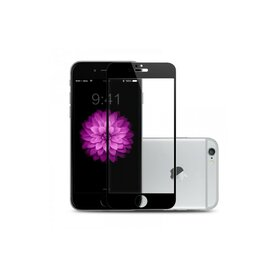 Folie sticla securizata premium full body PRO iPhone 6 Plus / 6s Plus tempered glass 9H 0,3 mm Benks NEGRU
