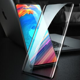 Folie sticla securizata premium full screen 3D Huawei P30 tempered glass 9H 0,30 mm Benks V-Pro NEGRU