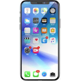 Folie sticla securizata premium full screen 3D iPhone Xs 9H 0.23 mm Benks X-Pro+ negru