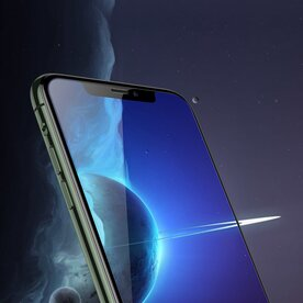 Folie sticla securizata premium full screen iPhone 11 0,15 mm Benks KR+