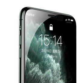 Folie sticla securizata premium full scren 3D privacy iPhone 11 9H 0,30 mm  Benks V-Pro Negru