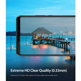 Folie sticla securizata Xiaomi Mi Max 3 9H 0,33 mm Ringke ID Glass (Set 2 bucati, 1+1 GRATIS)