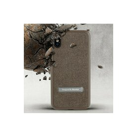 Husa Benks iPhone X/Xs Brownie maro + functie stand