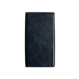 Husa Galaxy Note 4 Arium Boston Diary Book albastru navy