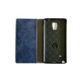 Husa Galaxy Note 4 Arium Boston Diary Book albastru navy