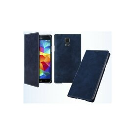 Husa Galaxy S4 Arium Mustang Flip Book Battery Cover albastru navy