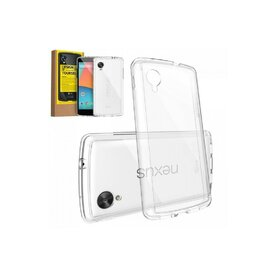 Husa Google Nexus 5 Ringke FUSION CRYSTAL VIEW TRANSPARENT+BONUS folie protectie display Ringke